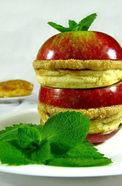 Racuchy z Jabłkami i Masłem Orzechowym
