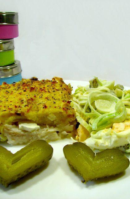 Fish Pie i Surówka z Pora
