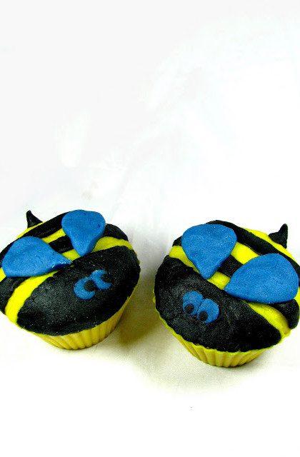 Kardamonowe Muffiny Pszczółki