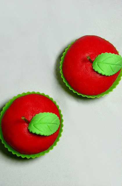 Miętowe Muffiny – Jabłuszka