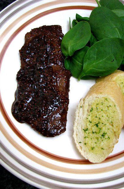 Stek a`la Guinness