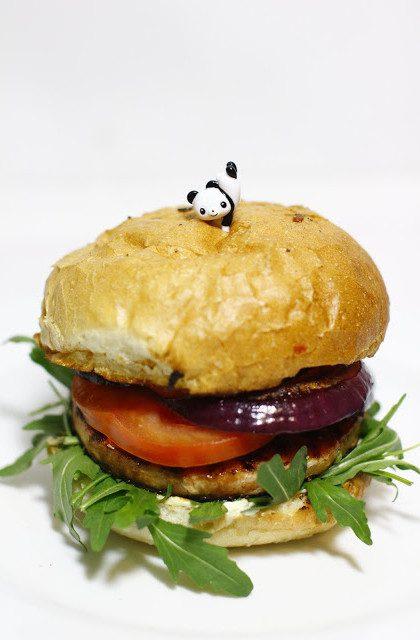 Fish Burger z Łososia