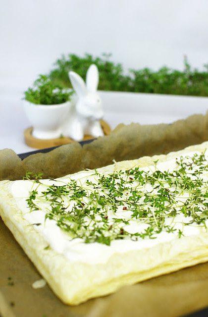 Mazurek Wielkanocny z Mascarpone i Rzeżuchą – Dania Wielkanocne