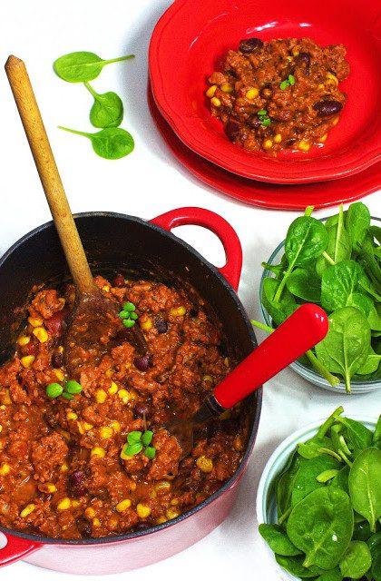 Chilli con Carne z Czekoladą i Cynamonem