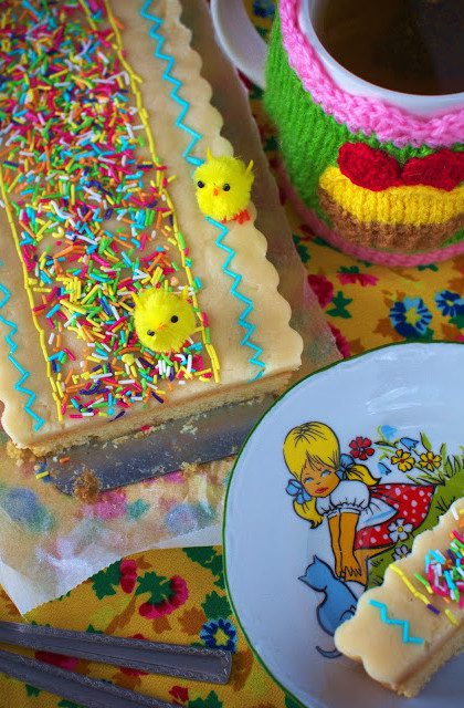 Mazurek z Marcepanem – Ciasta Wielkanocne