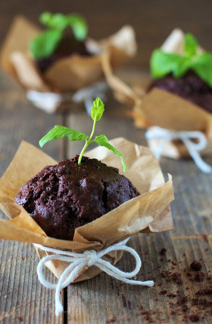 Muffiny Czekoladowo-Miętowe