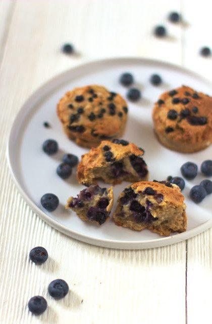Muffiny Żytnie z Jagodami