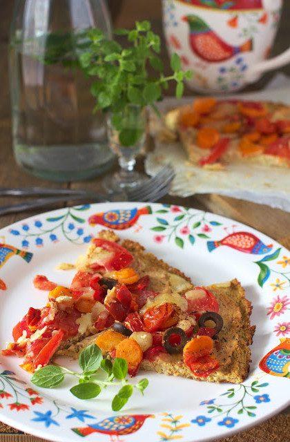 Pizza na Spodzie z Białych Warzyw