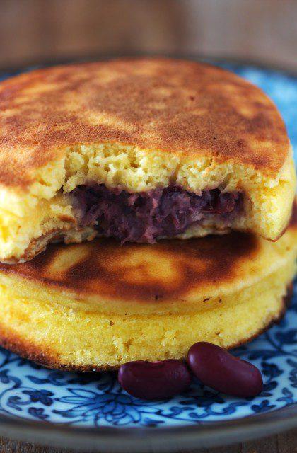 Taiyaki, czyli Pancakes z Pastą z Czerwonej Fasoli na Słodko