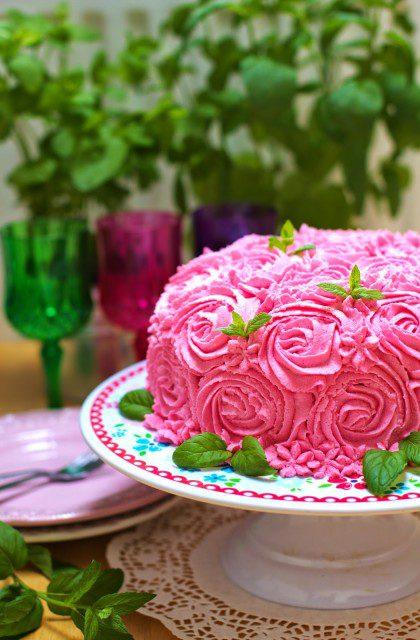 Tort Różany – Bukiet Róż