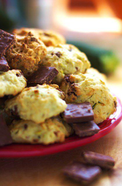 Ciasteczka z Cukinią i Czekoladą