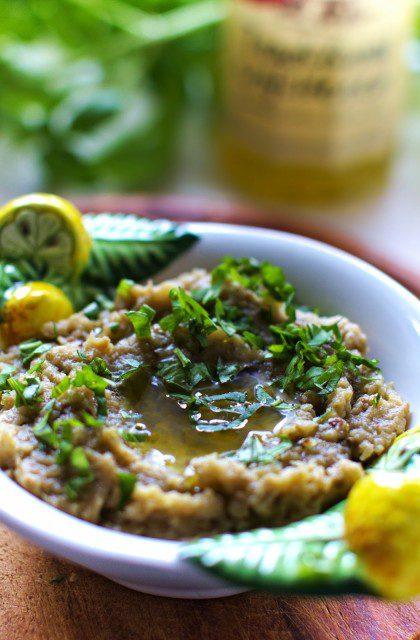 Baba Ghanoush, czyli Arabska Pasta z Bakłażana