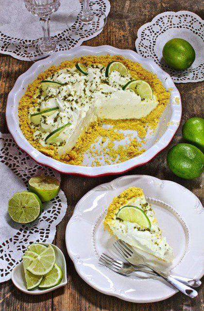 Key Lime Pie, czyli Limonkowy Placek bez Pieczenia