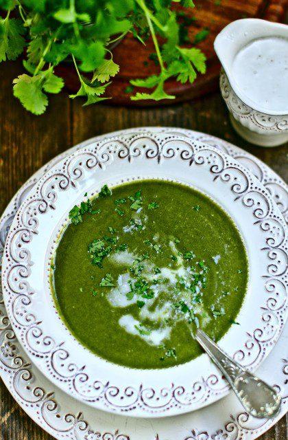 Zupa Krem ze Szpinaku z Mleczkiem Kokosowym
