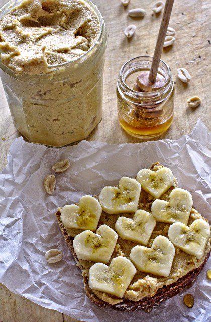 Kanapka z Masłem Orzechowym i Bananem