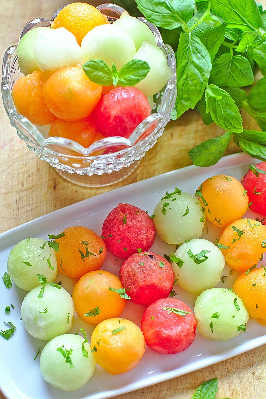 Sałatka z Arbuza i Melona-1