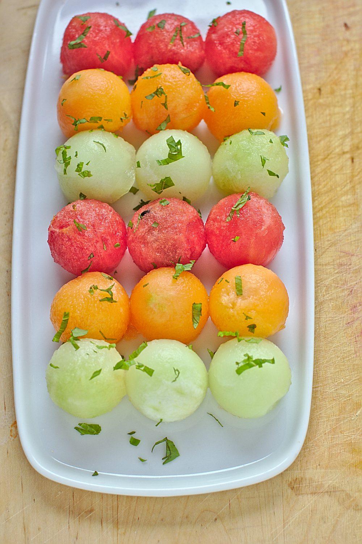 Sałatka z Arbuza i Melona-2
