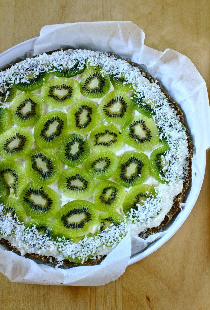 Tarta z Kiwi i Mascarpone