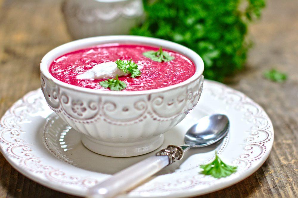 Zupa Krem z Buraków z Mleczkiem Kokosowym-6