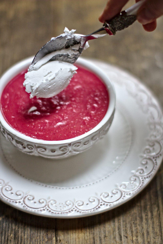 Zupa Krem z Buraków z Mleczkiem Kokosowym