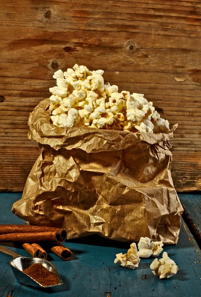 Popcorn z Cynamonem i Cukrem