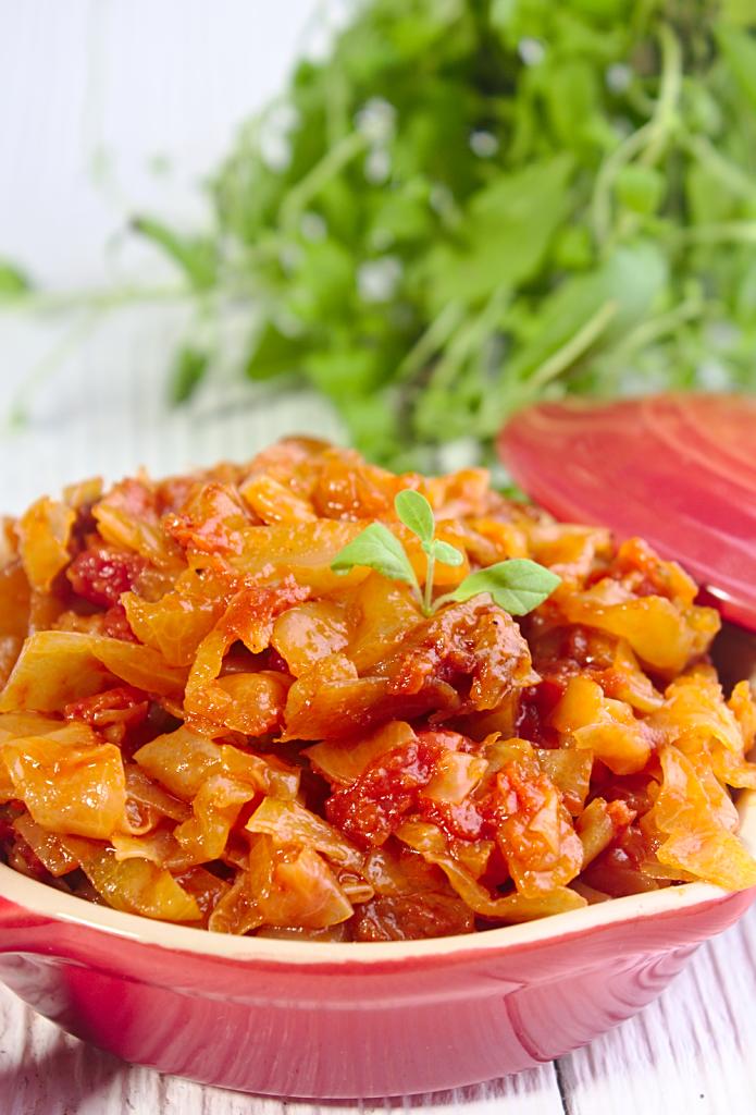Kapusta z Pomidorami