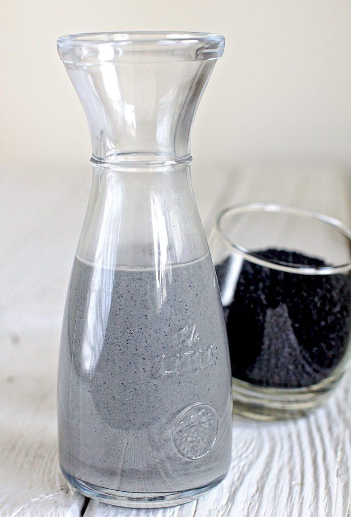 Mleko z Czarnego Sezamu