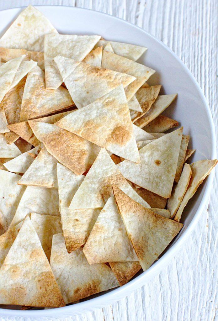 Nachosy, Chipsy z Tortilli