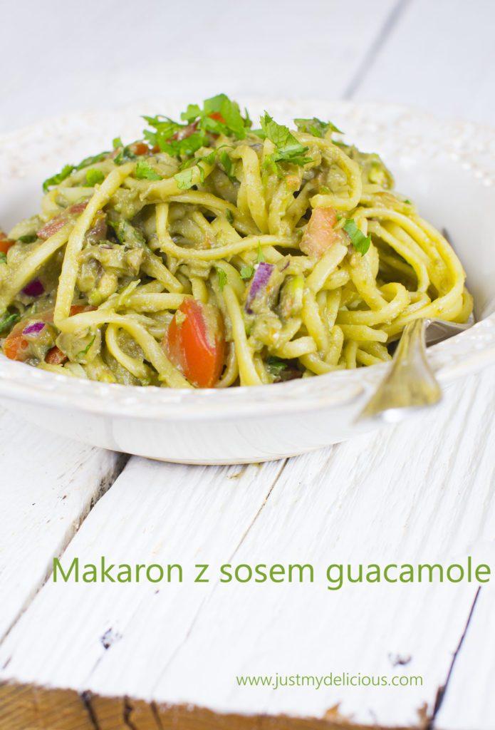 Makaron z Sosem Guacamole