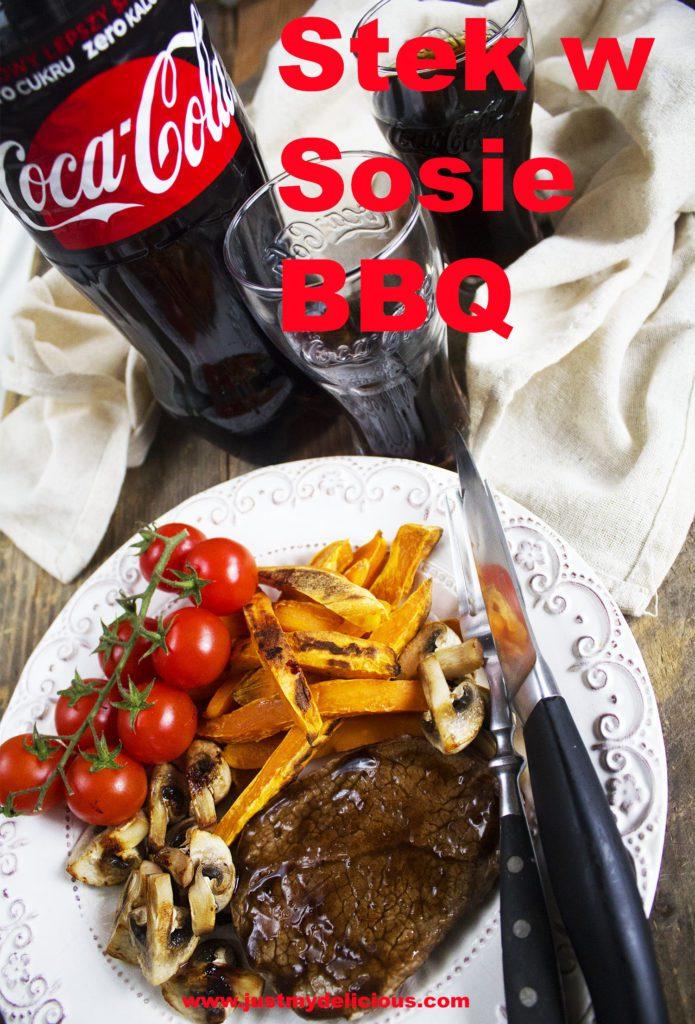 Stek w Sosie BBQ