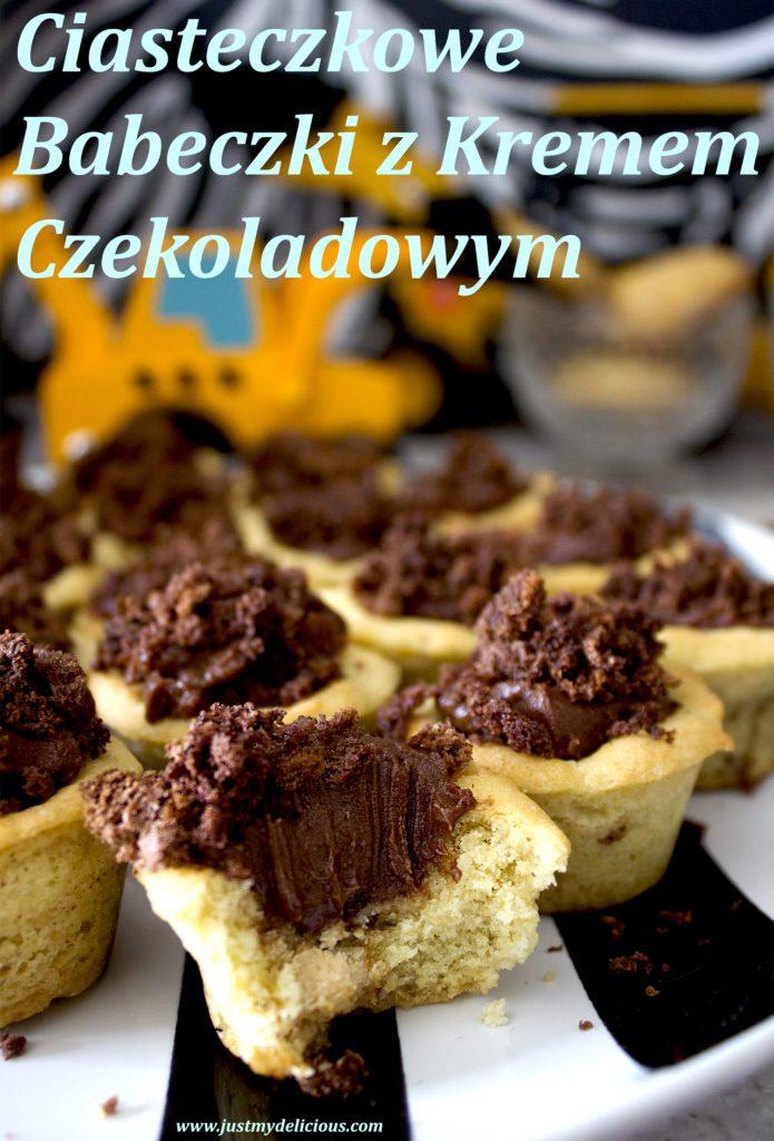 Ciasteczkowe Babeczki z Kremem Czekoladowym