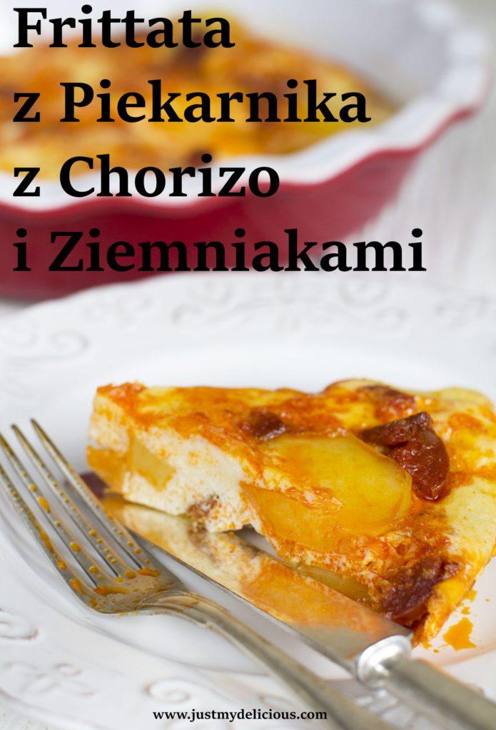 Frittata z Piekarnika z Chorizo i Ziemniakami