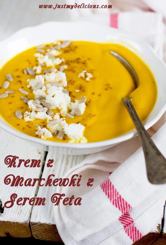 Zupa Krem z Marchewki z Serem Feta