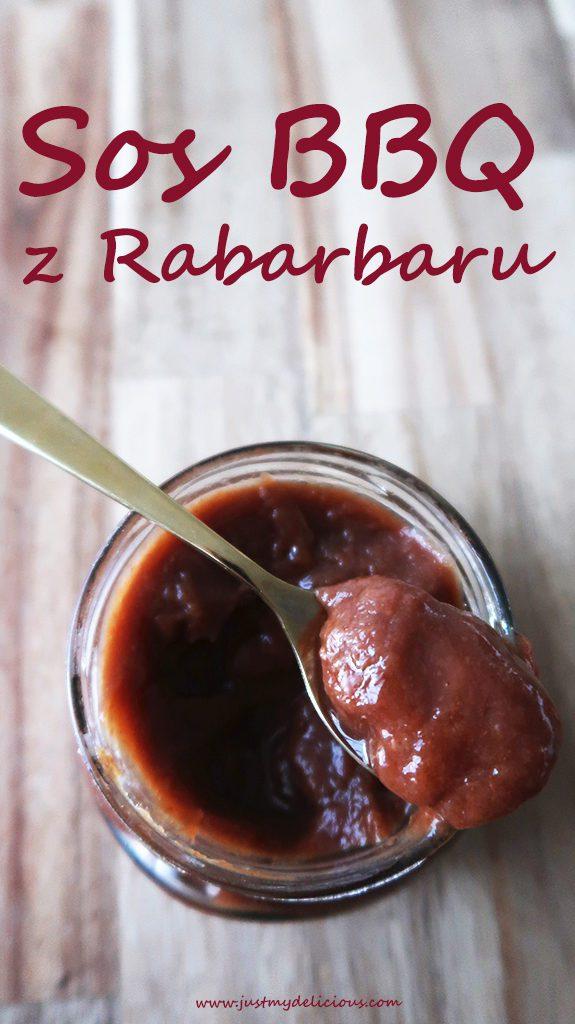 Sos BBQ z Rabarbaru