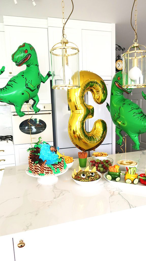 Urodziny z Motywem Dinozaurów