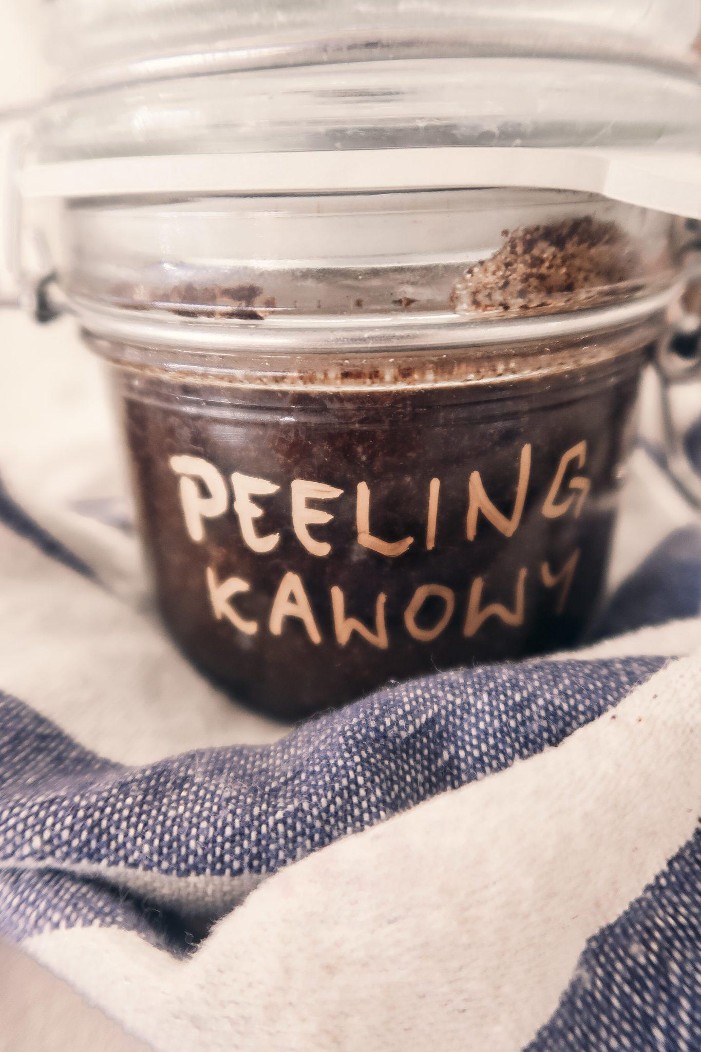 natłuszczający peeling kawowy diy