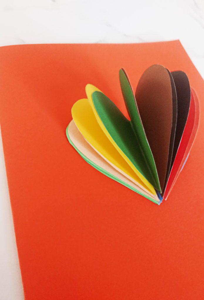 Kartka Walentynkowa z Sercem z Serc 3D