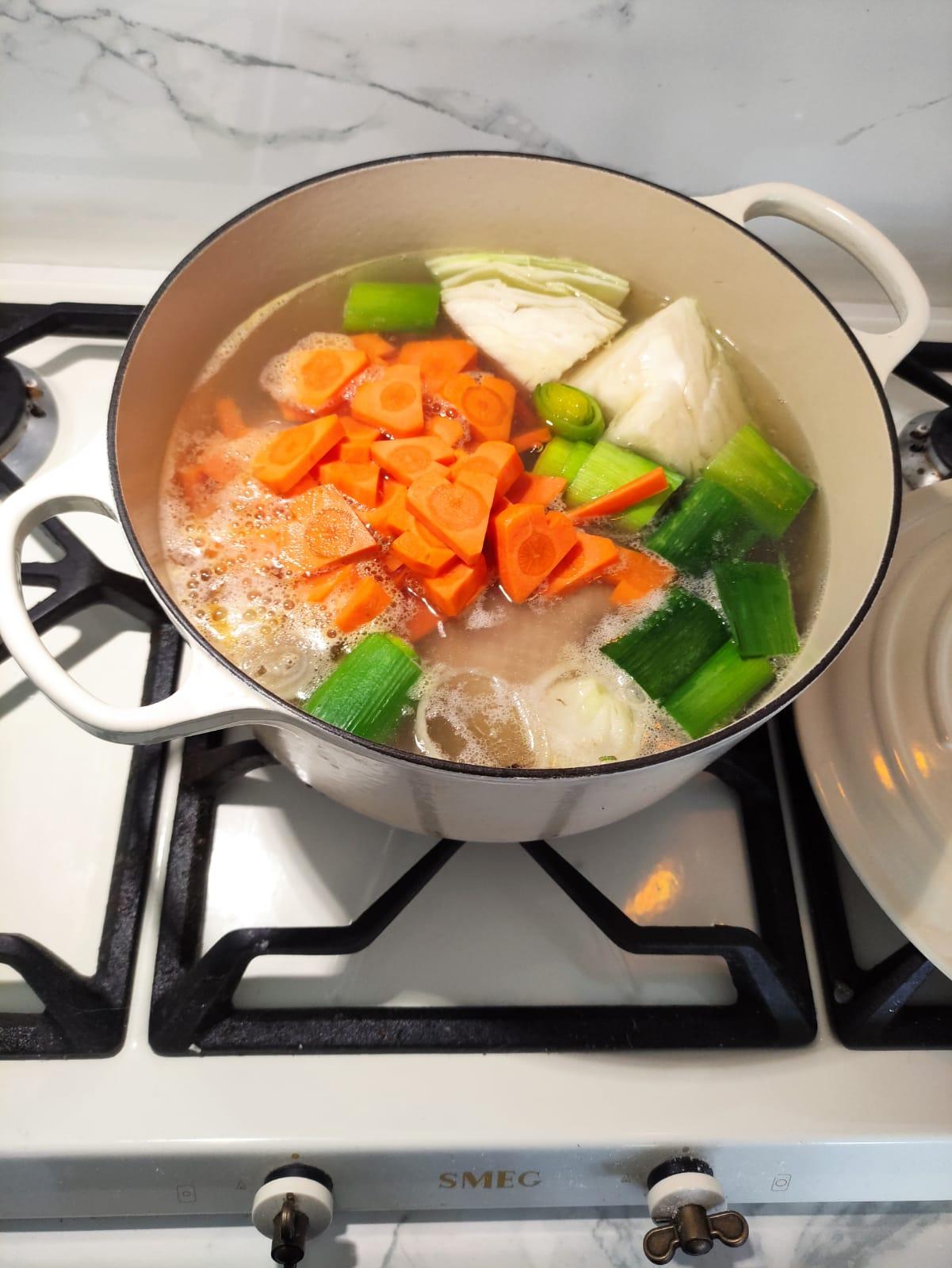 zupa na walentynki