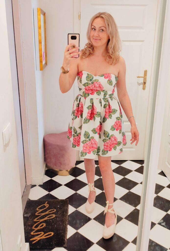 Sukienka Koktajlowa na Lato