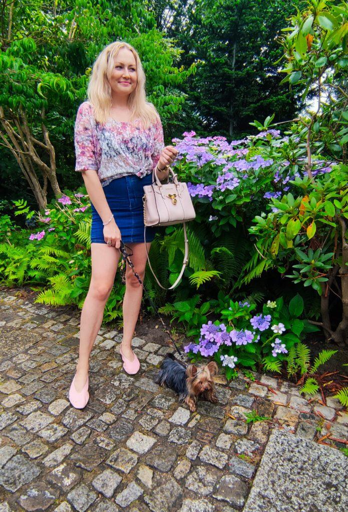 Spódnica Jeansowa Mini Stylizacje